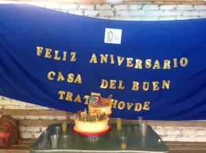 Happy anniversary Casa Del Buen Trato!